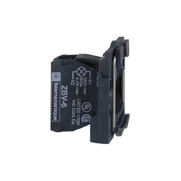 CPO.d.22 230-240V C/LED VD.TORN.E.PLAST.