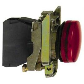 PILOTO C/LED d.22 230-240V ROJO E.MET.