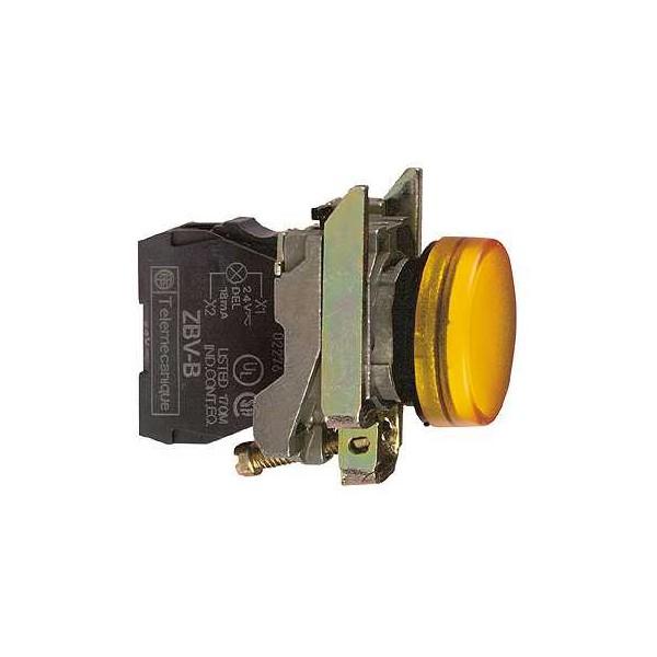 PILOTO C/LED d.22 230-240V AMAR.E.MET.