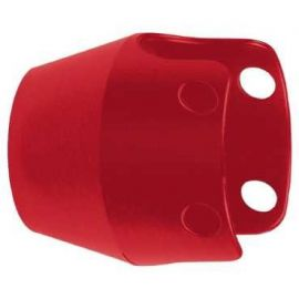 GUARDA PROTECCION METALICO ROJO