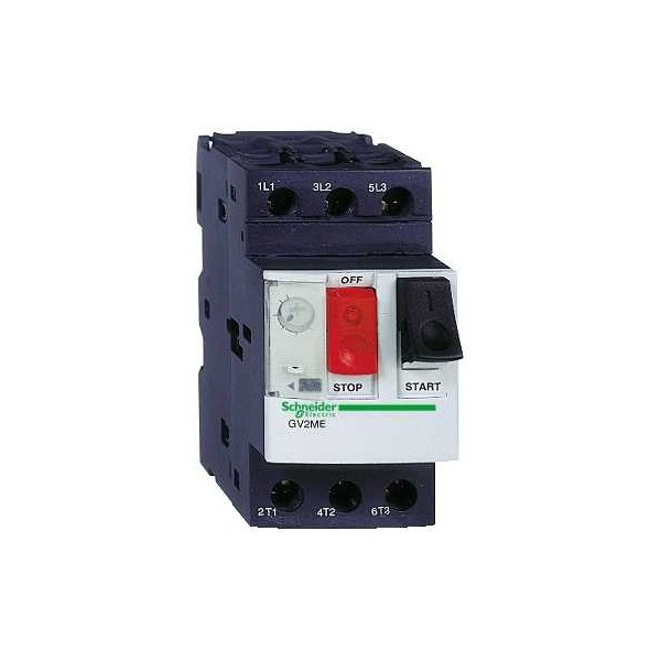 Disyuntor magnetotérmico 0,16-0,25A 3P GV2ME02 Schneider