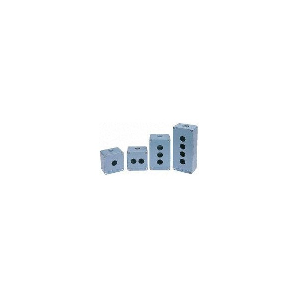 CAJA MET.IP65 1TDR. 30.5 PROF.74.5 AZUL