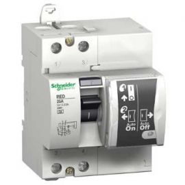 Diferencial rearmable RED 2P 25A 30mA Schneider