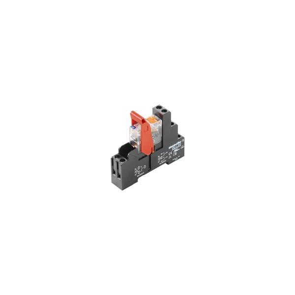 RELE RCIKIT 24VDC 2CC LED VERDE+P