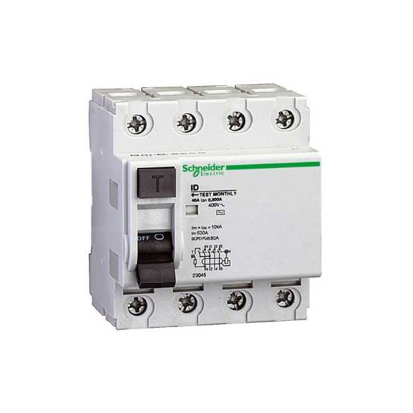 INT.DIF.ID-AC 4P 40A 500mA 415V