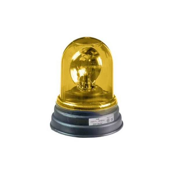 LAMPARA LUZ GIRATORIA INCAND.230V AM.