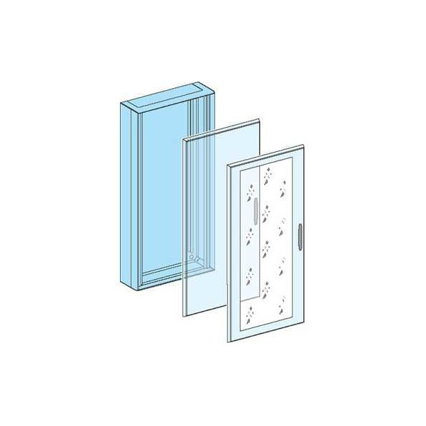 Puerta plena G IP30 12 módulos H:630mm