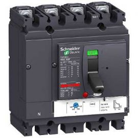 Interruptor automático Compact 125A NSX160F TMD 4P3R