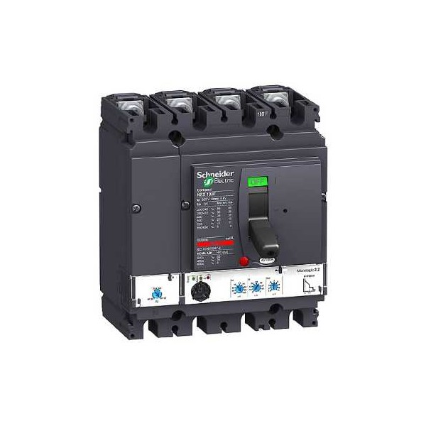 NSX100F MICROLOGIC 2.2 100A 4P4R