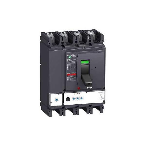 Interruptor automático Compact 400A NSX400N Micrologic 2.3 4P4R