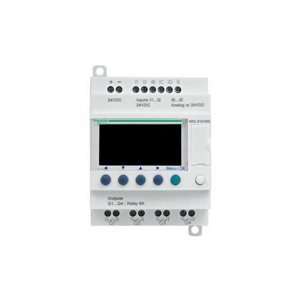 RELE PROG.MOD.100-240V E/S 10