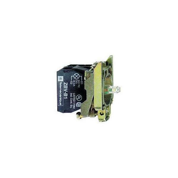 CPO.d.22 110-220V 2NA LED BL.TORN.E.MET.
