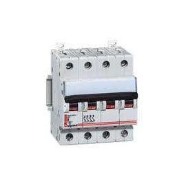 Aparellaje industrial LEGRAND MAGNETOTERMICO DX 6/10KA C 4P 25A LEXIC