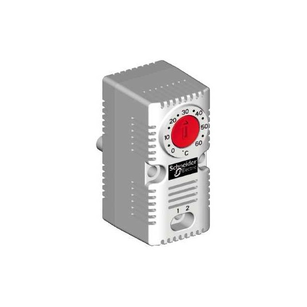 Termostato contacto cerrado rojo 120V CA 15A Schneider