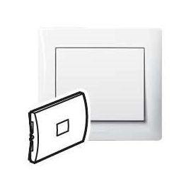 Interruptores y Enchufes por marca LEGRAND TECLA BLANCO VISOR Y DISCO-PICTOGRAM.GALEA