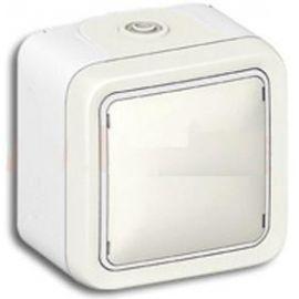 Pulsador blanco monobloc Legrand Plexo 069760