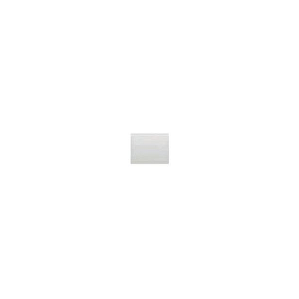 TECLA PULSADOR SIMPLE IRIS/AURA MATE BLANCO