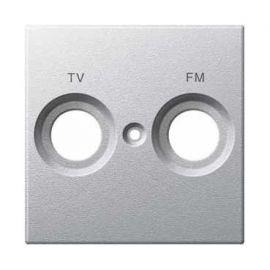 Tapa toma TV/FM aluminio Elegance MTN299560
