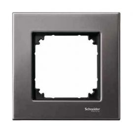 Marco 1 elemento Elegance gris rodio MTN403114