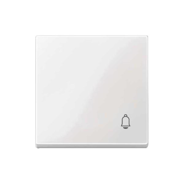 Tecla simbolo timbre blanco marfil Elegance MTN438819