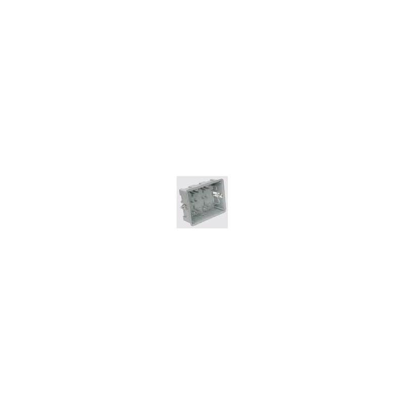 CAJA EMP.2 MODULOS 60mm SERIE M GRIS