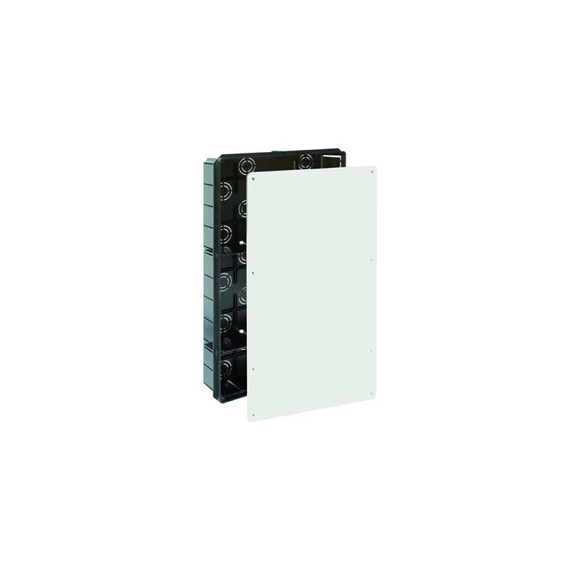 Cajas de registro empotrables SOLERA Caja empalmes 2 tabiques separadores 300x500x85 tapa tornillos