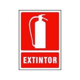 """Señalización SE/EXTIN de seguridad """"EXTINTOR"""""""