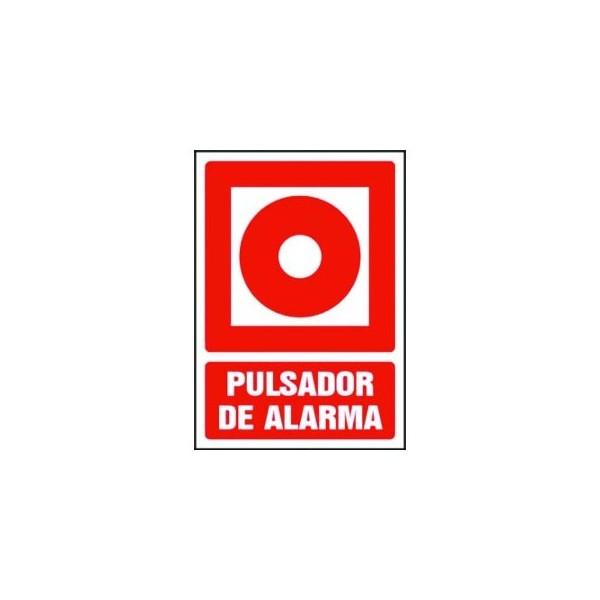 """Señalización SE/PULS de seg. """"PULSADOR DE ALARMA"""""""