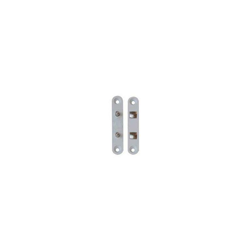 Contactos dobles p/puertas Gris