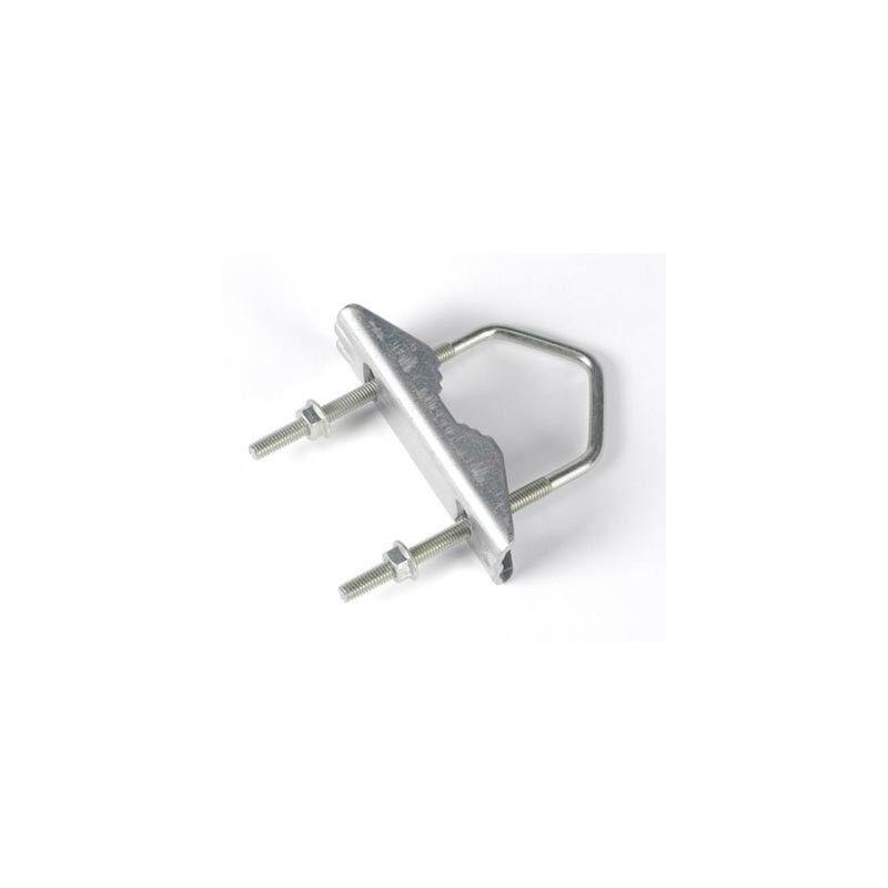 Grillete mordaza para mastil 45mm Televes 2047