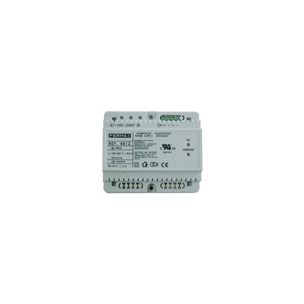 Alimentador 18VDC-1,5A DIN6