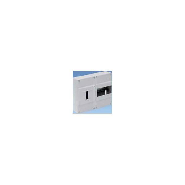 Cuadro automáticos superficie 6 elementos + ICP gris Solera