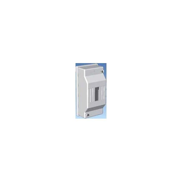 Cuadro automáticos superficie 4 elementos Blanca precintable