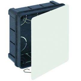 Caja empalmes 100x100x45 cierre garra plástico Solera