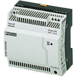 Fuente de alimentación carril DIN 4.2A, 22.5V dc a 29.5V dc
