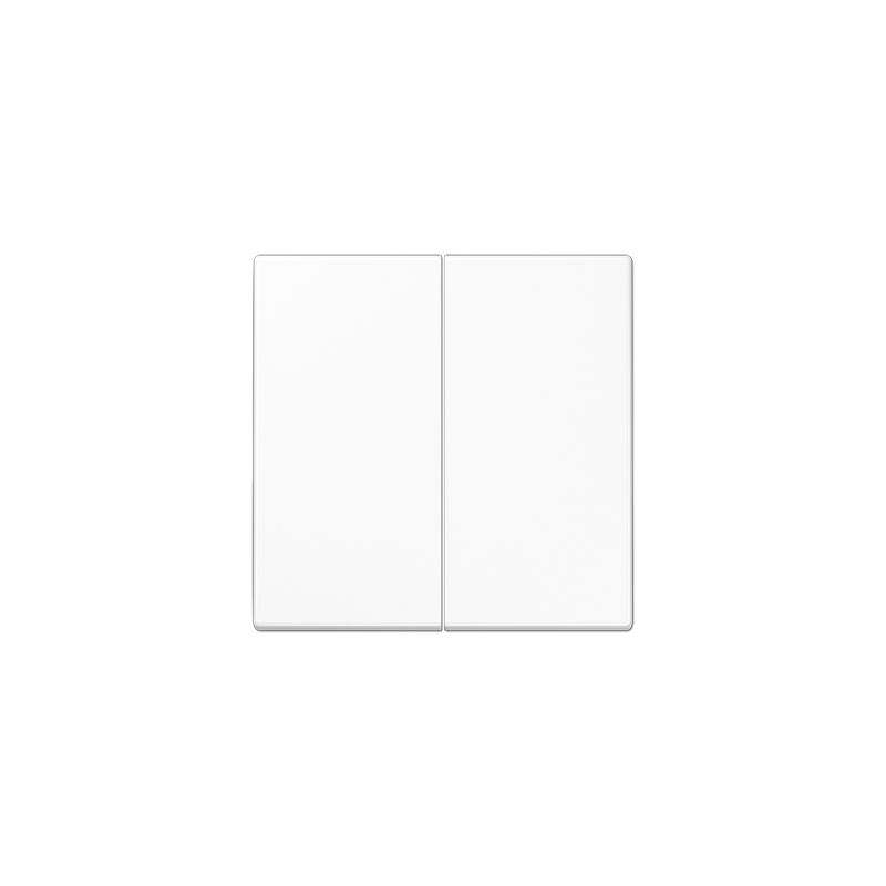 Tecla doble interruptor blanco alpino LS995WW de Jung