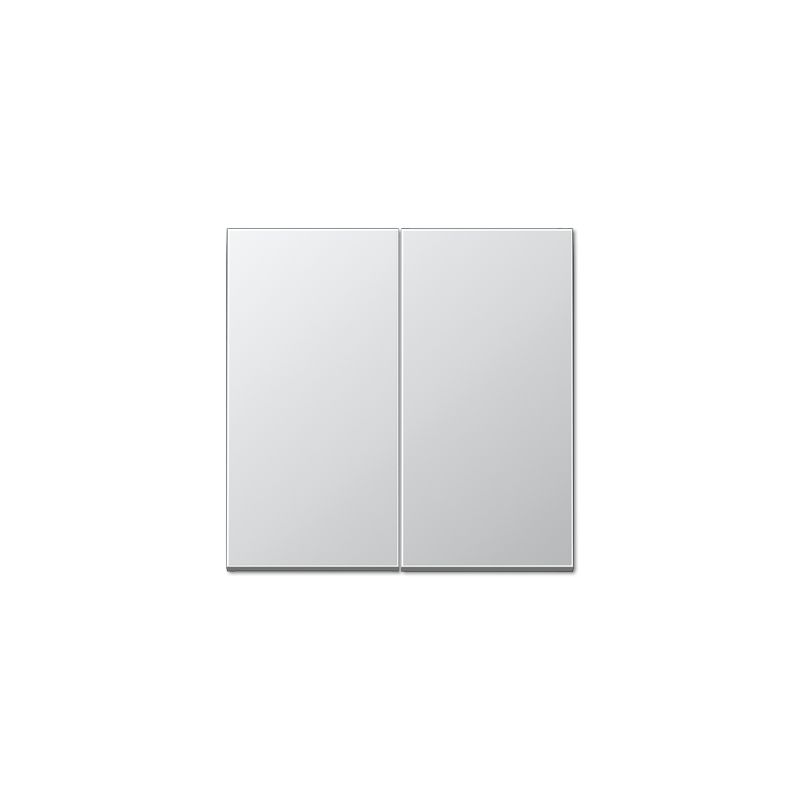 Tecla doble interruptor aluminio AL2995 de Jung