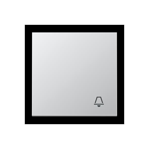 Tecla pulsador símbolo timbre aluminio AL2990K