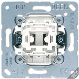 Interruptor unipolar 10A 501U serie LS990 de Jung
