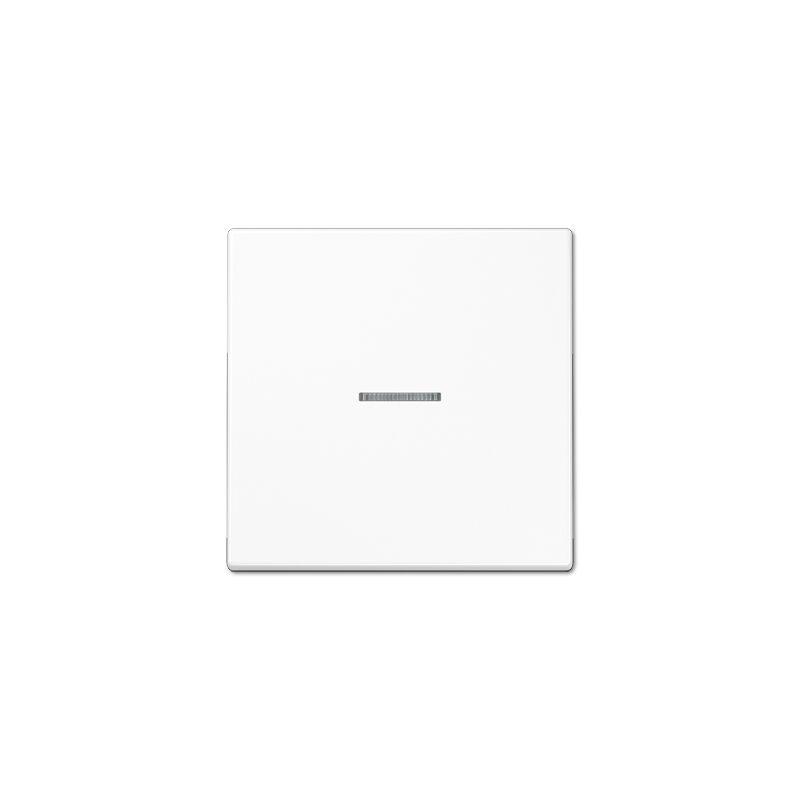 Mecanismos JUNG Tecla interruptor con visor blanco alpino LS990KO5WW