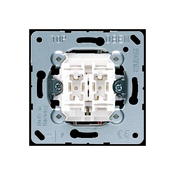 Interruptor para persianas 509VU serie LS990 de Jung