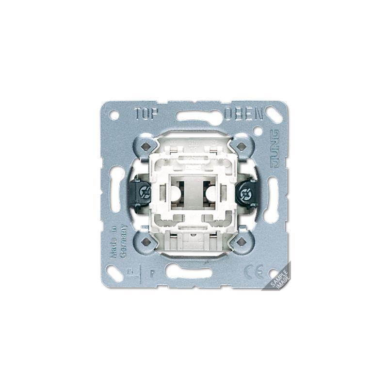 Interruptores y Enchufes por marca JUNG Interruptor bipolar Jung serie LS990 502U