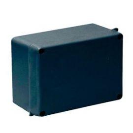 Caja estanca superficie negra 160x135x70 ciega IP65 Solera 817N