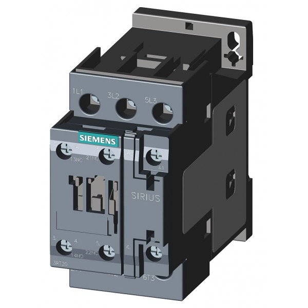 CONTACTOR AC-3 5,5Kw 400V NA+NC 24V S0 TORN.