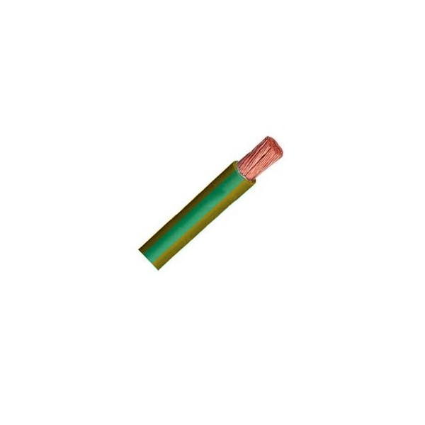 Cable Libre Halógenos Flexible 6 mm2 Verd/ama