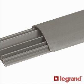 Canal suelo DLP 2 metros Legrand 50x12mm gris 30092