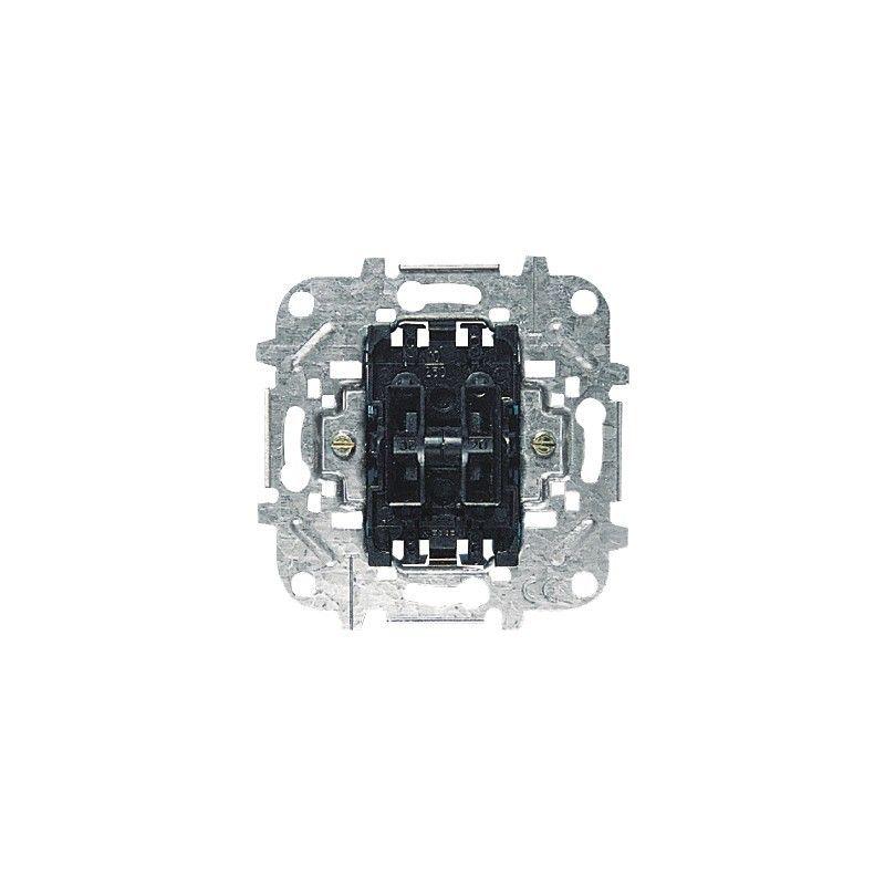 Interruptores y Enchufes por marca ABB NIESSEN Conmutador doble Niessen 8122 Sky Olas Arco y Tacto