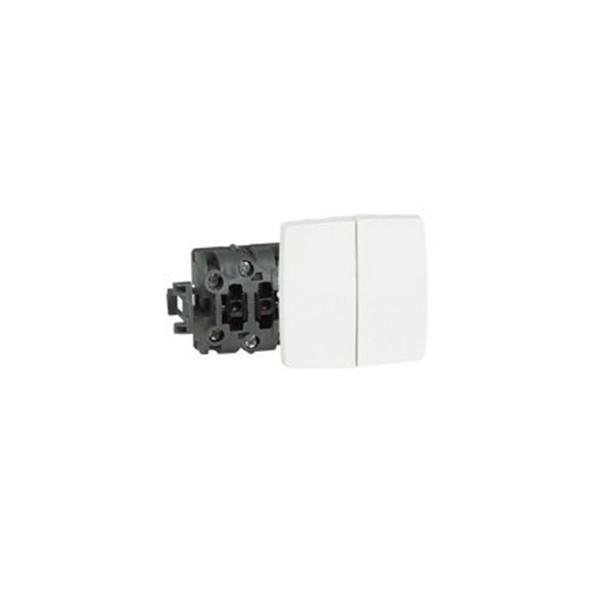 Doble interruptor conmutador Oteo 086120