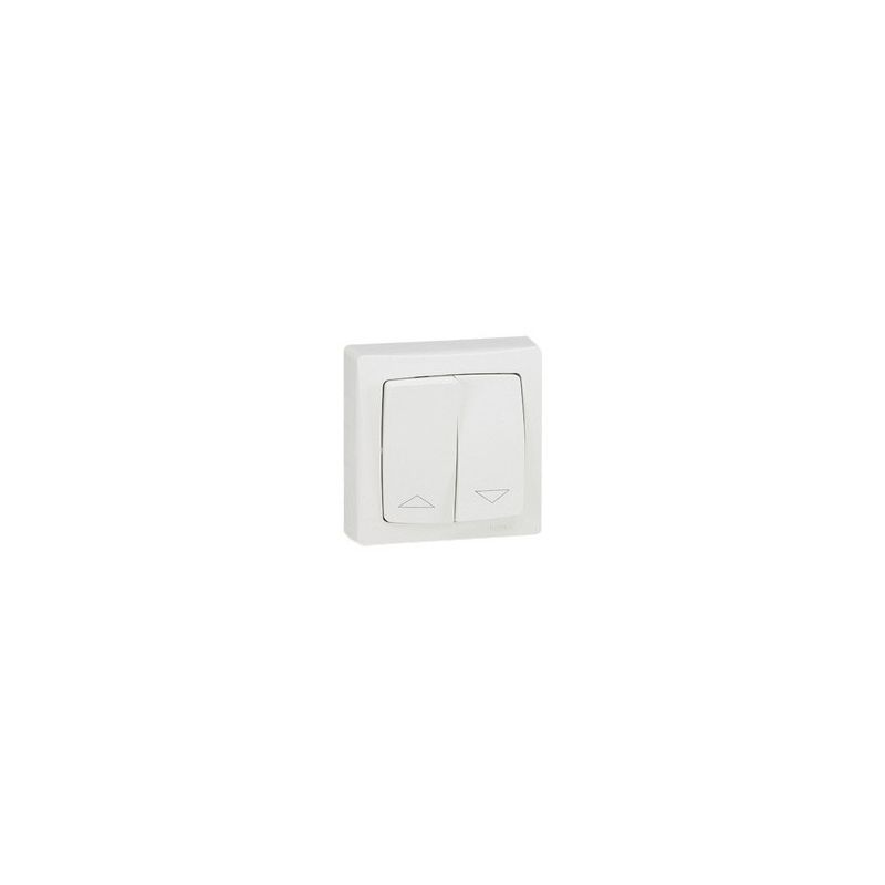 Doble interruptor persianas superficie Monobloc Oteo 086013