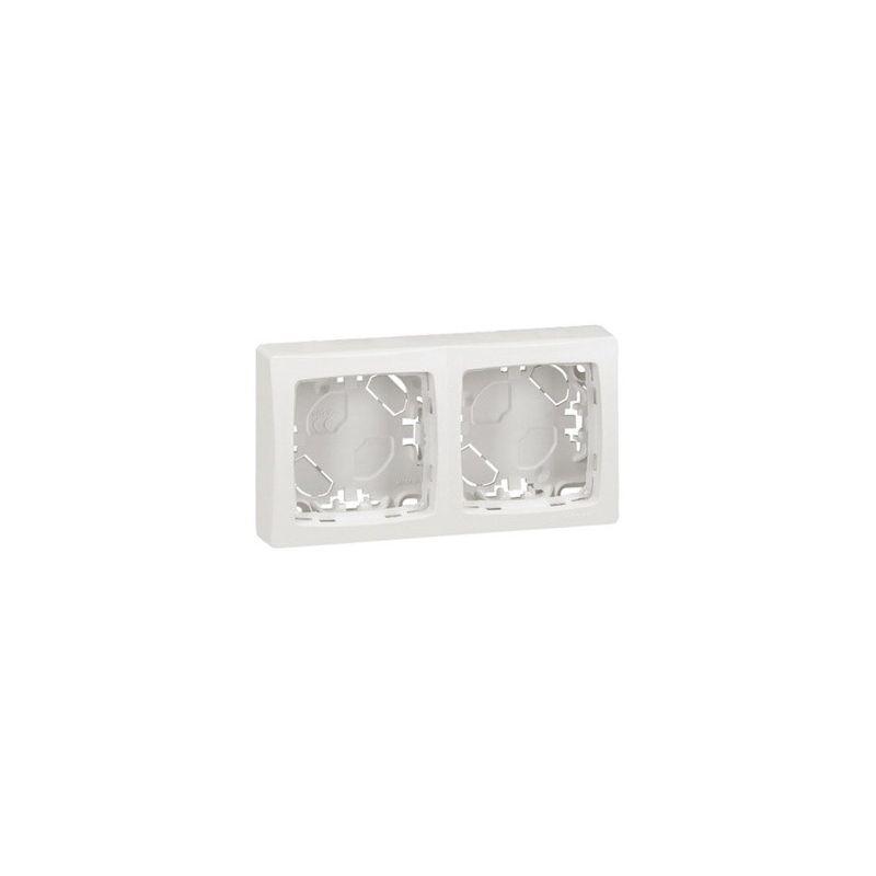 Interruptores y Enchufes por marca LEGRAND Marco de superficie de blanco Legrand Oteo 086092
